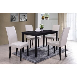 5 Piece Dining Set by BestMasterFurniture Design