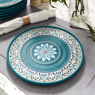 Baeza Melamine Dinner Plate (Set of 6)