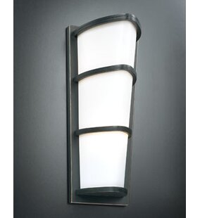 Reviews Neale 2-Light Outdoor Flush Mount By Latitude Run