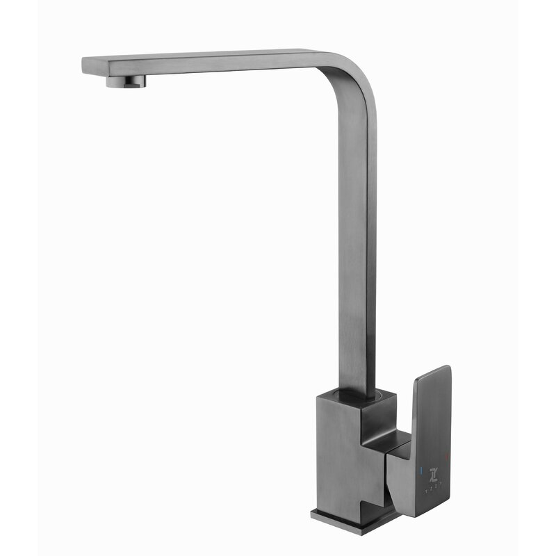 Yzzy Hot And Cool Single Handle Kitchen Faucet Wayfair Ca