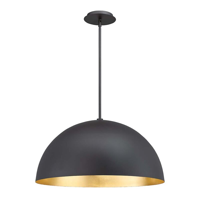 Modern Forms Yolo 1 Light Single Dome Led Pendant Reviews Perigold