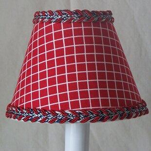 Fireman's Check 11 Fabric Empire Lamp Shade
