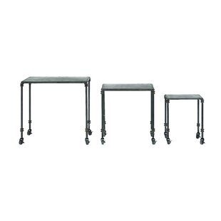 Williston Forge Dostal 3 Piece Nesting Tables