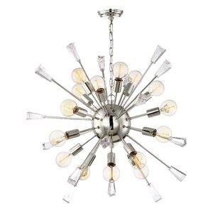 Brayden Studio Axford 18-Light Sputnik Chandelier