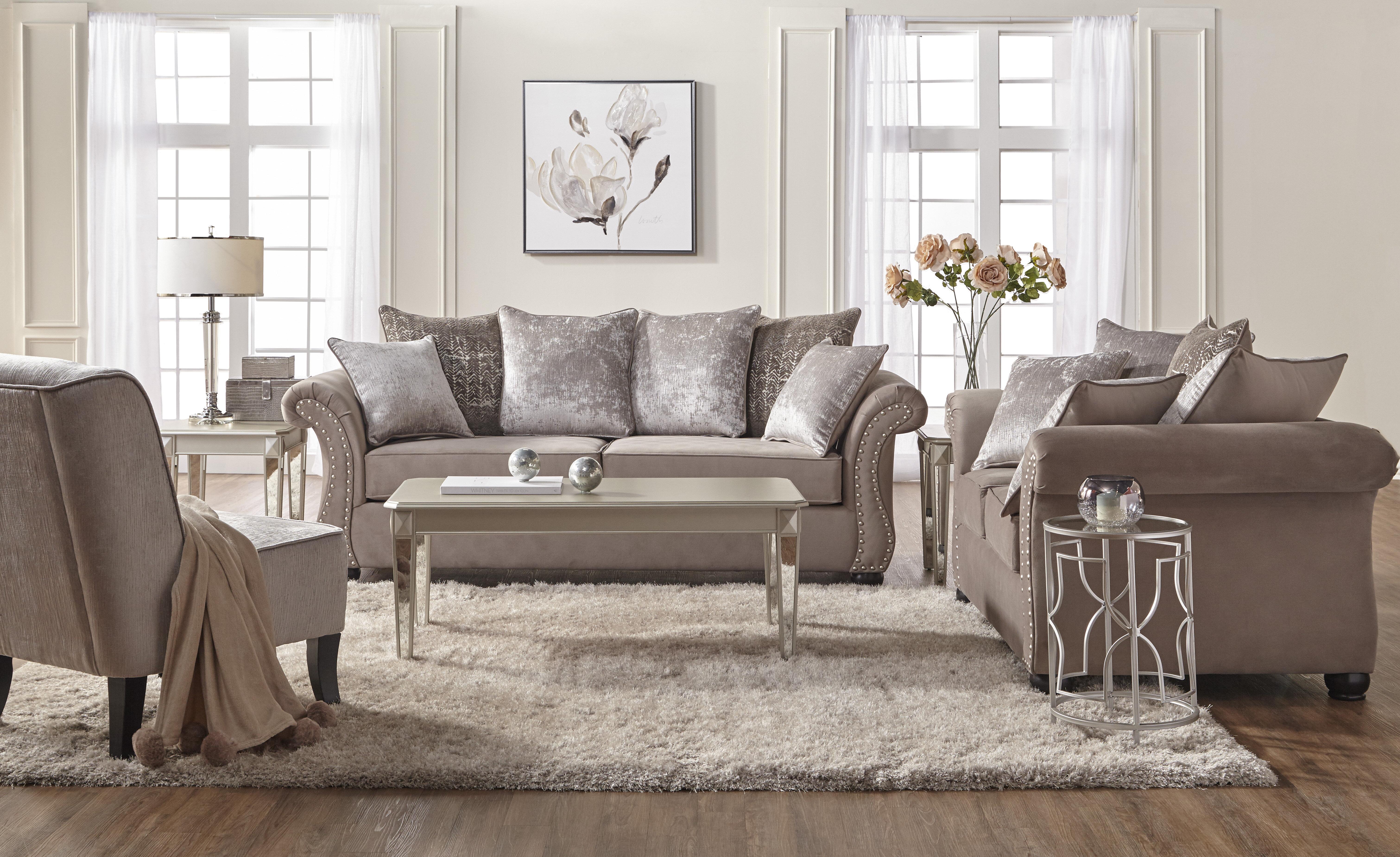 Alcott Hill Agnes Configurable Living Room Set & Reviews ...