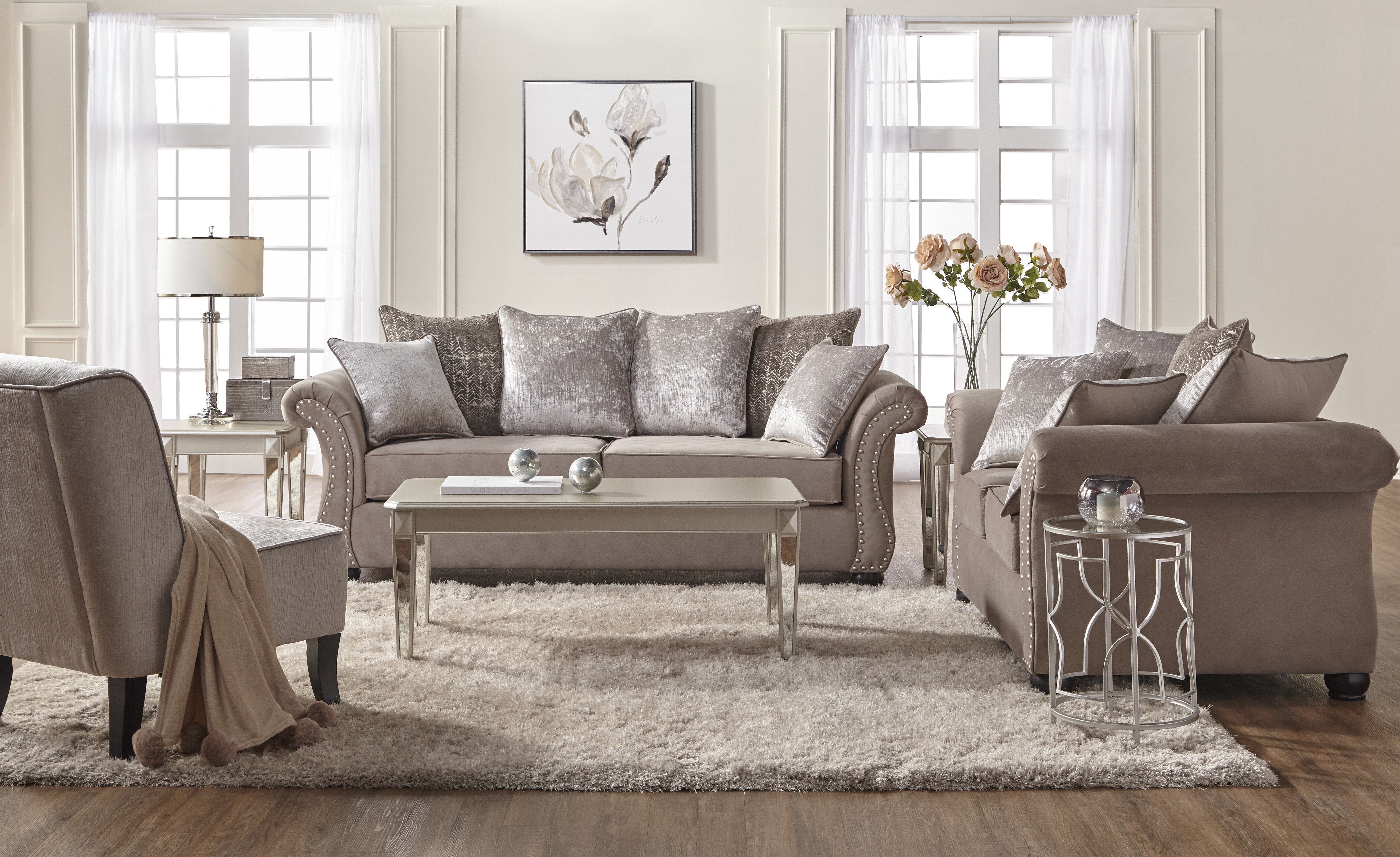 Superbe Country Chic Living Room   Wayfair