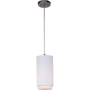 Bayou Breeze Denning 1-Light Cylinder Pendant