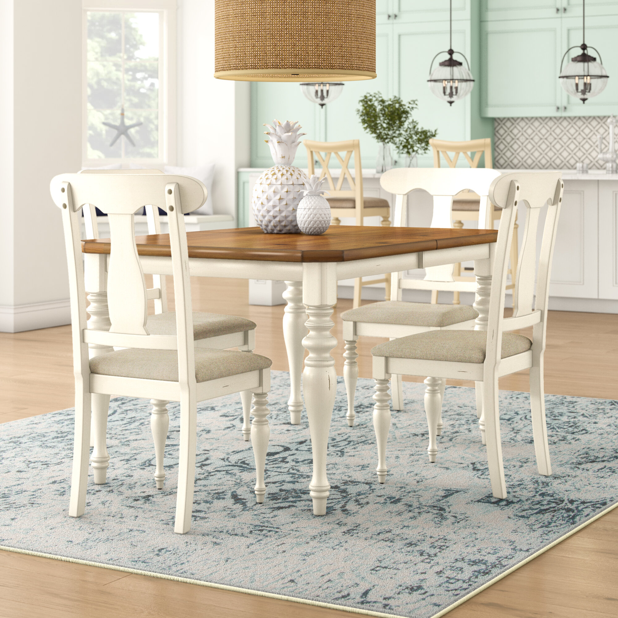 Seats 10 Or More Kitchen Dining Room Sets Tables Free Shipping Over 35 Wayfair