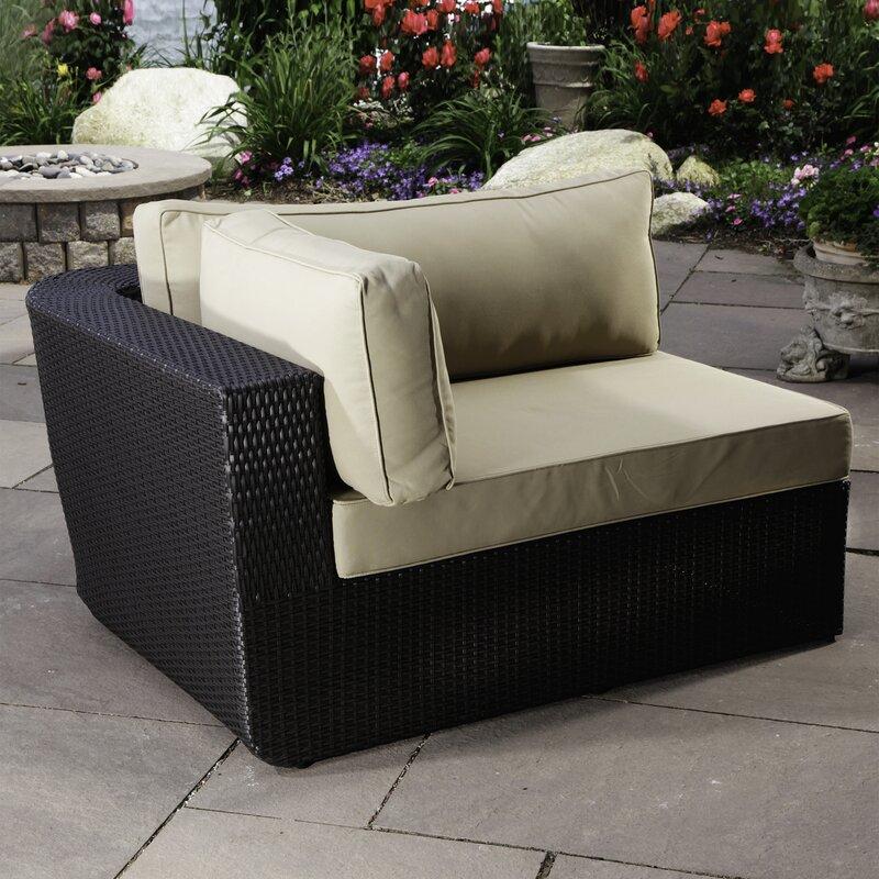 Malta Left Arm Chair with Cushions