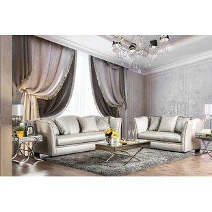 Minneapolis 2 Piece Living Room Set by Andrew Home Studio