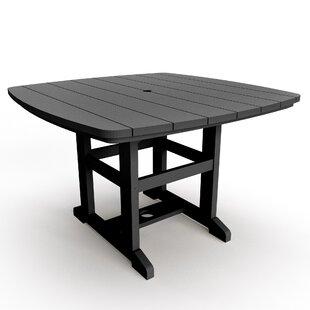 Duran Plastic/Acrylic Dining Table