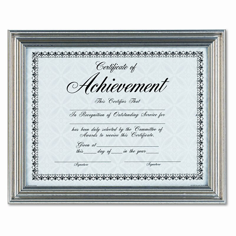 DAX MANUFACTURING INC. Antique Colored Document Metal Frame with ...