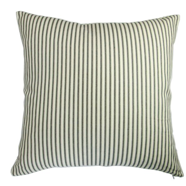 Chavis Modern Country Cottage Home French Ticking Pillow