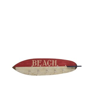Amias Surfboard Coat Rack By House Of Hampton