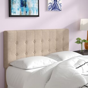 Savings Revere Queen Upholstered Panel Headboard by Andover Mills
