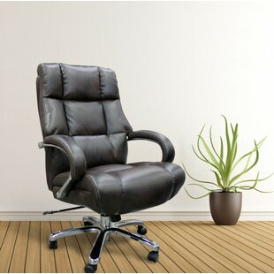 Loon Peak Heldt Heavy Duty Executive Desk Chair