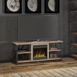 Millen TV Stand for TVs up to 60 with Fireplace Included by Three Posts™