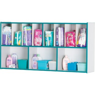 Jonti-Craft Rainbow Accents Wall Shelf