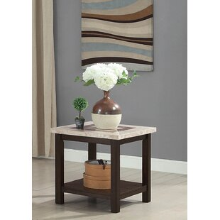 Caspar End Table by Alcott Hill