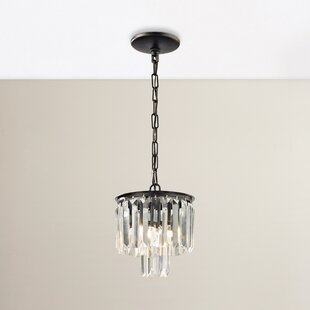 Springfield 1-Light Crystal Pendant by Willa Arlo Interiors