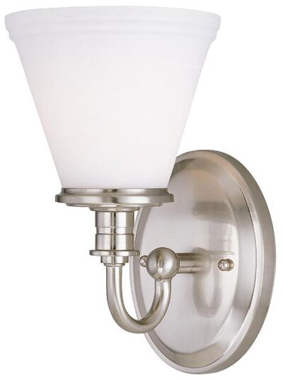 Charlton Home Londonderry 1 Light Armed Sconce Wayfair