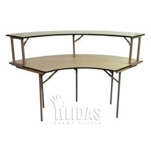 Elite Semi Circle Folding Table