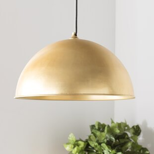 Arsen 1 Light Inverted Pendant by Trent Austin Design