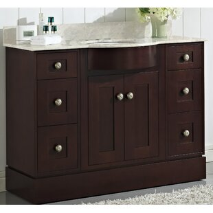 Kester 48 Rectangle Single Bathroom Vanity Set with Stone Top by Darby Home Co