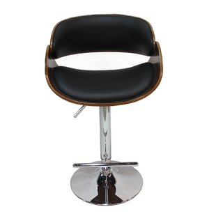 Check Prices Margarites Adjustable Height Bar Stool by Orren Ellis Reviews (2019) & Buyer's Guide