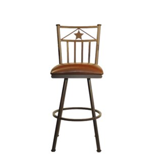 Andy 30 Swivel Bar Stool Millwood Pines