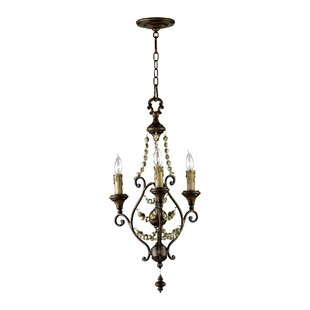 Cyan Design Meriel 3-Light Candle Style C..