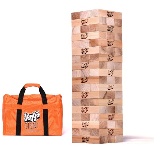 Giant Jenga Hardwood Game