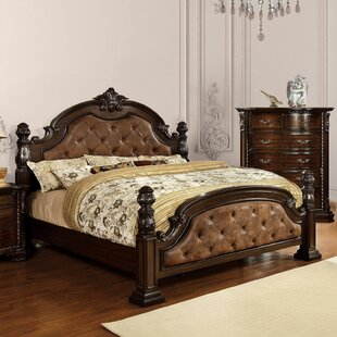 Read Reviews Goulding Upholstered Four Poster Bed by Astoria Grand Reviews (2019) & Buyer's Guide