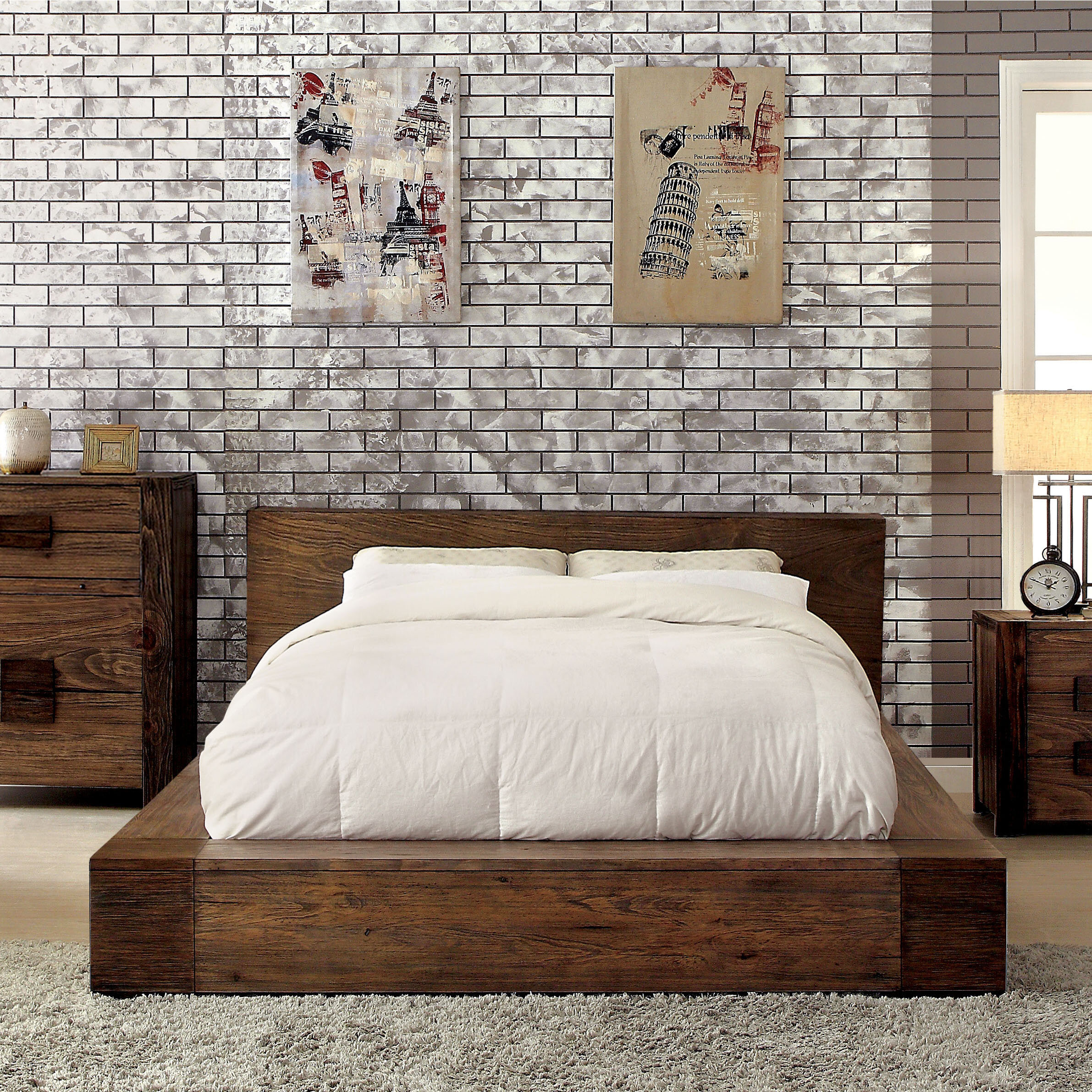 Picture of: Platform Tall Beds You Ll Love In 2020 Wayfair