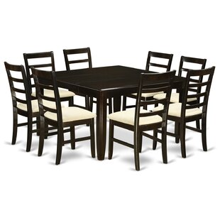 Tamarack 9 Piece Dining Set Red Barrel Studio