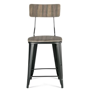 Romo 24'' Bar Stool Williston Forge