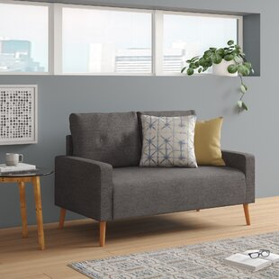 Find a Ramsdell Mid Century Standard Loveseat by Wrought Studio Reviews (2019) & Buyer's Guide