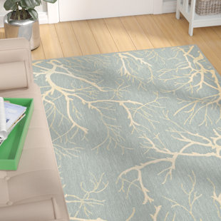 Reviews Kopp Light Blue Indoor/Outdoor Area Rug By Zipcode Design