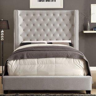 Willa Arlo Interiors Steph Flannelette Upholstered Platform Bed