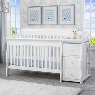 Princeton Junction 3-in-1 Convertible Crib and Changer Combo by Delta Children