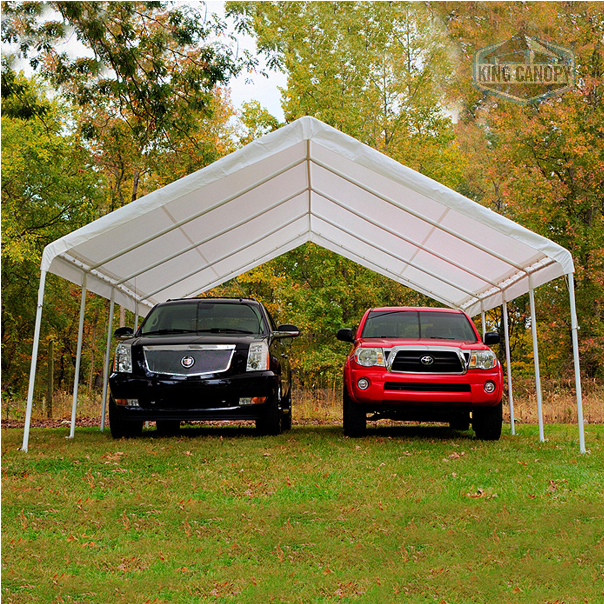 King Canopy Hercules 18 Ft  x 27 Ft  Canopy & Reviews | Wayfair