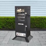Vertical Propane 642 Square Inches Smoker
