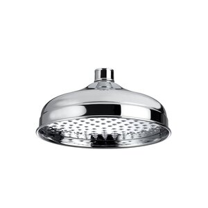 20cm Fixed Shower Head with Swivel Joint