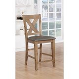 Kaif 24 Counter Stool (Set of 2) by Gracie Oaks