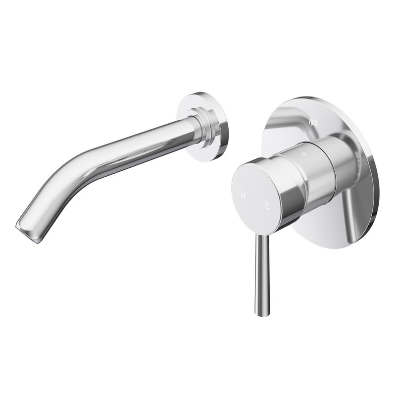 VIGO  Olus Wall Mount Bathroom Faucet