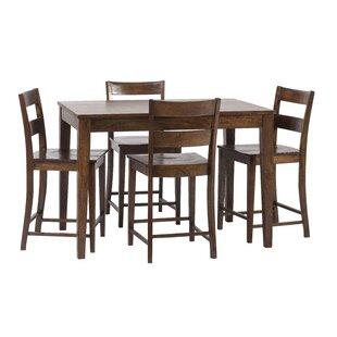 Gambino 5 Piece Counter Height Dining Set