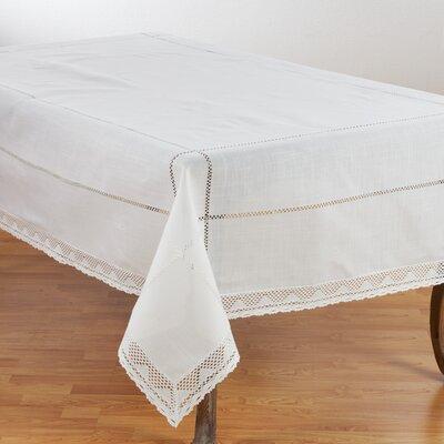 """Mastropietro Embroidered Design Tablecloth Lark Manor Size: 104"""" L x 72"""" W"""