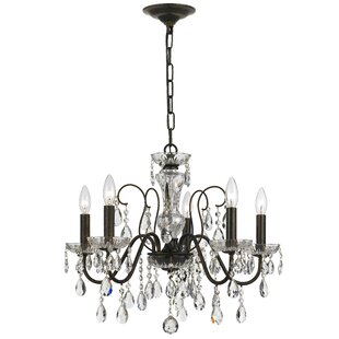 Best Reviews Roney 5-Light Candle Style Chandelier By Willa Arlo Interiors