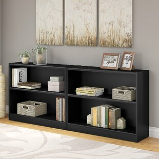 Andover Mills Morrell Standard Bookcase (Set of 2)