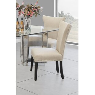 Anthropology Upholstered Dining Chair (Set of 2) BestMasterFurniture